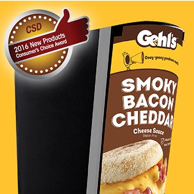 Gehl's Smoky Bacon Cheddar Consumer Choice Award!