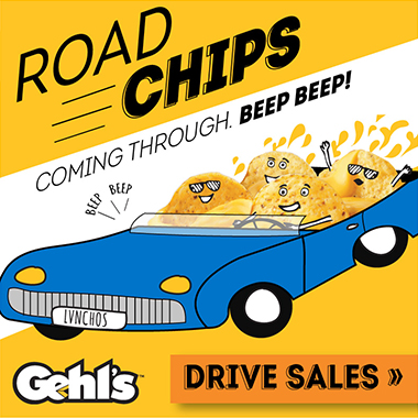 Gehl's Road Chips Summer Nacho Promotion