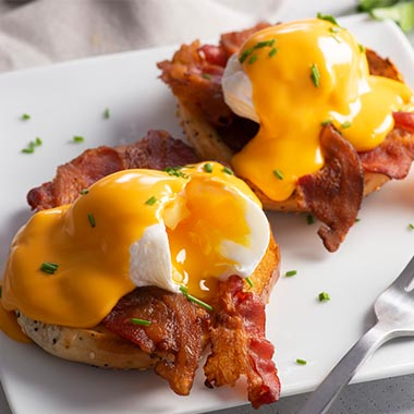 Gehl's Beer Cheese Benedict