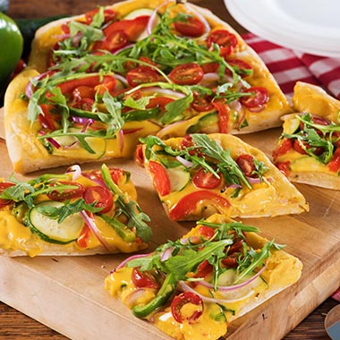 Garden Vegetable Flatbread