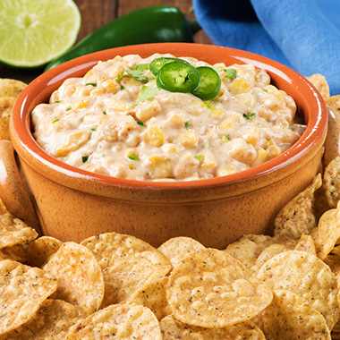 Baked Mexican Corn Dip